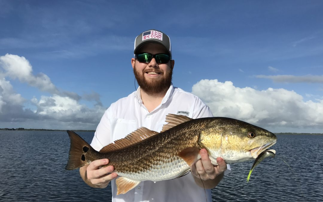 Mosquito Lagoon Redfish Fishing August 10th 2017