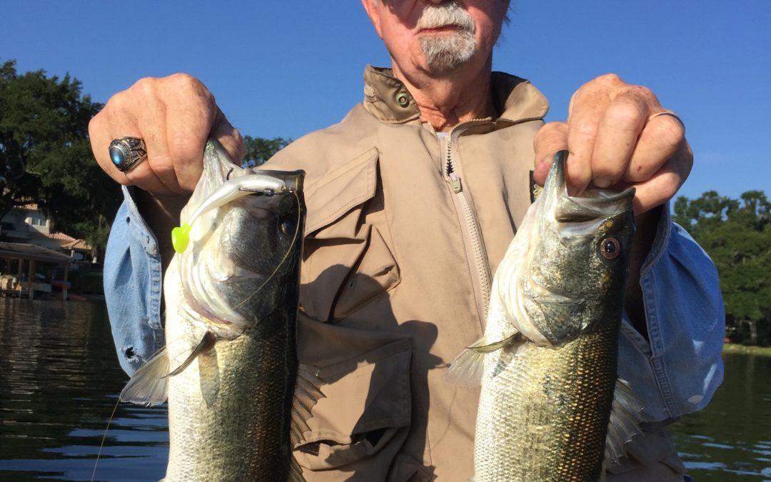 Orlando Bass Fishing August 17 2017